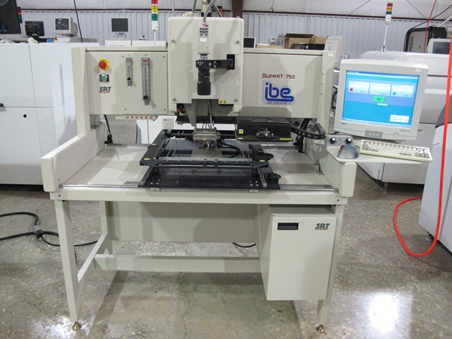 Machine Type - SRT Summit 750 - ibesmt.com