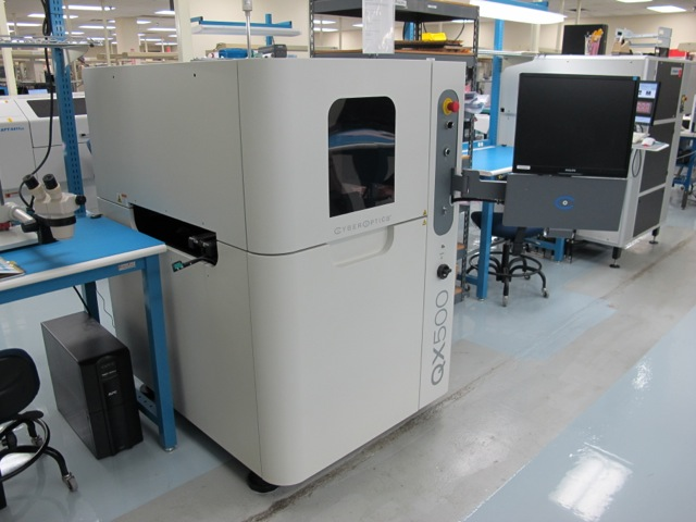 Machine Type - Cyber Optics QX 500-M AOI - ibesmt.com