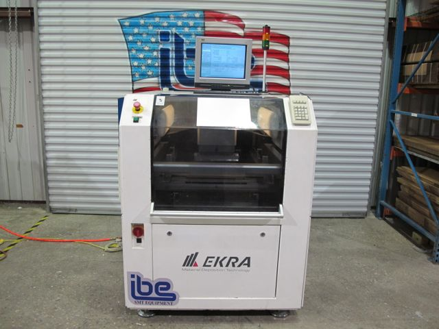 Machine Type - Ekra X5 - ibesmt.com