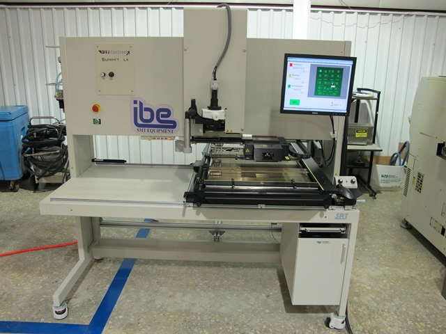 Machine Type - VJ Electronix Summit LX - ibesmt.com