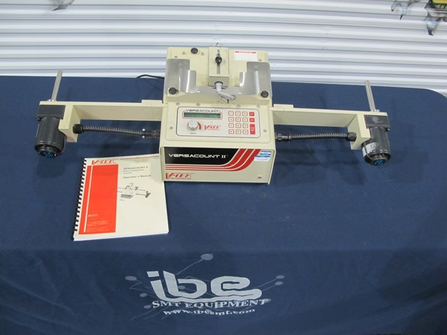 Machine Type - V-Tek Versacount II - ibesmt.com