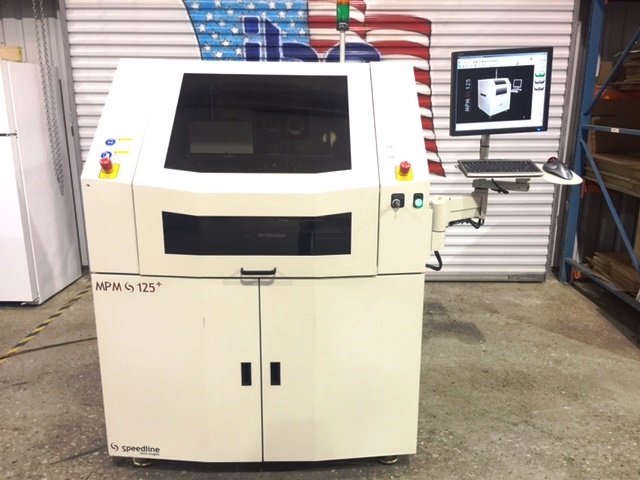 Machine Type - Speedline MPM 125+ - ibesmt.com