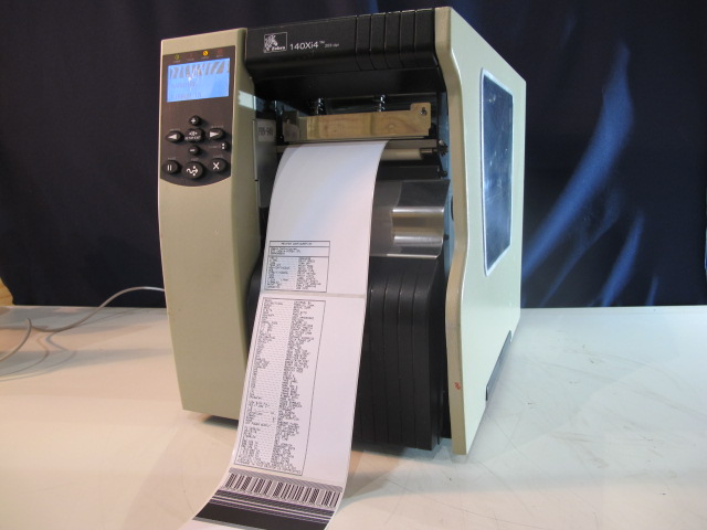 Machine Type - Zebra 140xi4 Label Printer - ibesmt.com
