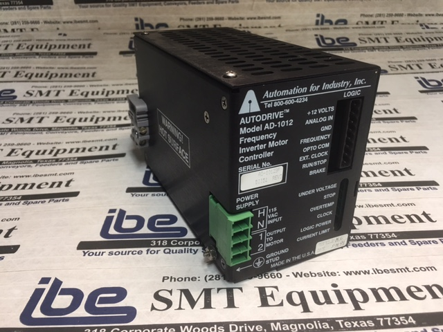 Automation Autodrive Model AD-1012 Frequency Inverter Motor Controller