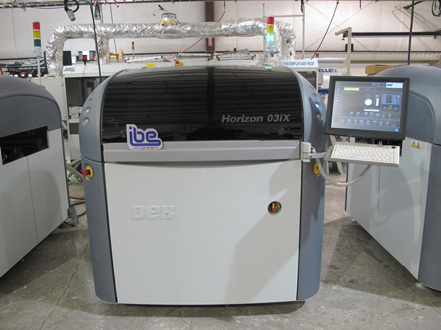Machine Type - DEK Horizon 03iX - ibesmt.com