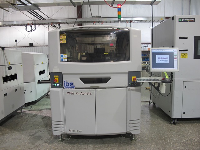 Machine Type - Speedline MPM Accela - ibesmt.com