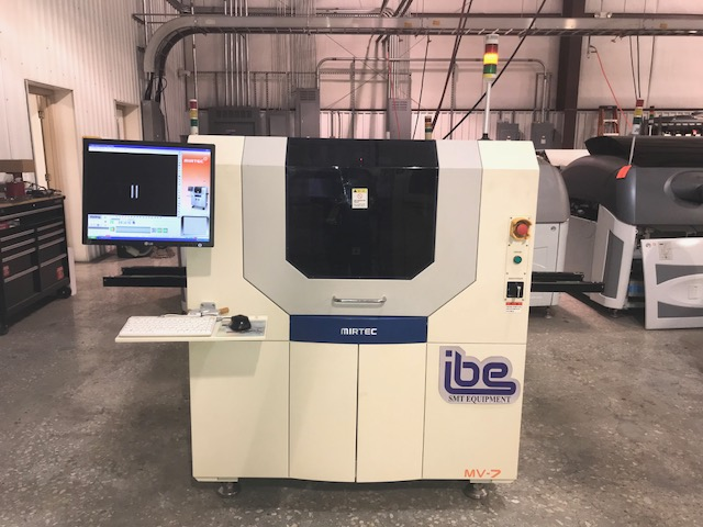 Machine Type - Mirtec MV-7U AOI - ibesmt.com