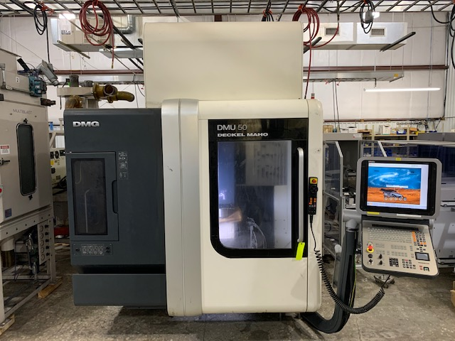 Machine Type - DMG Mori DMU 50 - ibesmt.com